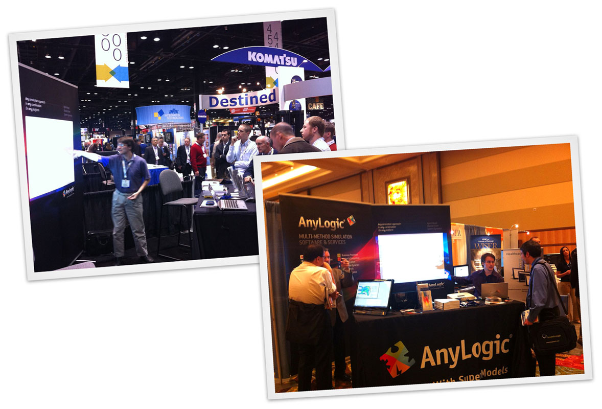 AnyLogic North America Attends ProMat 2013 and IMSH 2013